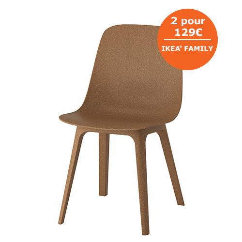 ODGER Chaise IKEA La Forme Creuse De Laposassise Ainsi Que Arrondie Du