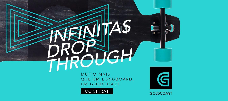 Goldcoast Infinitas Drop-through Longboard Skateboard