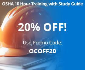 OSHA 10 Hour Construction Training | Save $20! | OSHAcampus com