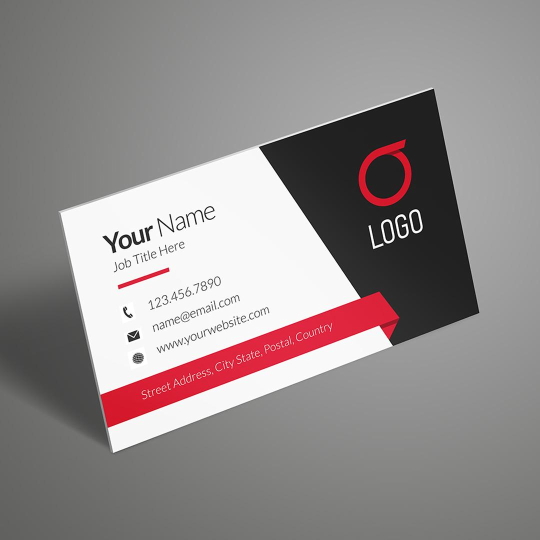 Standard business card printing rectangle slim or square uprinting colourmoves