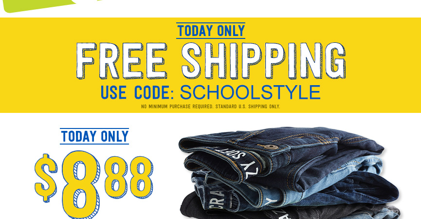 Crazy 8: FREE Shipping + $8.88...