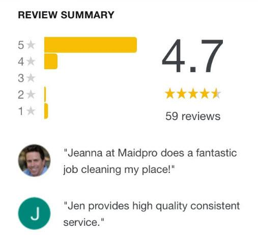 Grapevine Texas House Cleaning Maid Service MaidPro