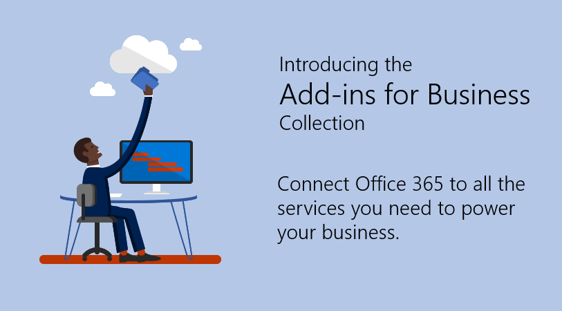 Connect Office 365 to all the services you need to power your business.