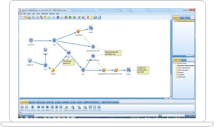 IBM SPSS Modeler trial screenshot