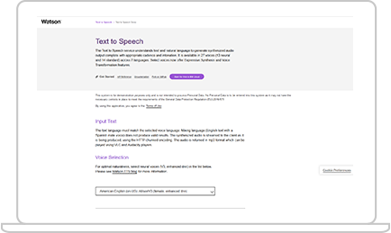 IBM Watson Speech to Text