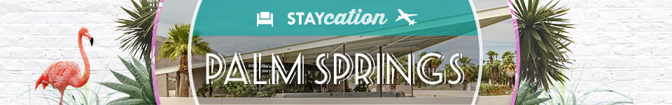 Staycation - palm springs
