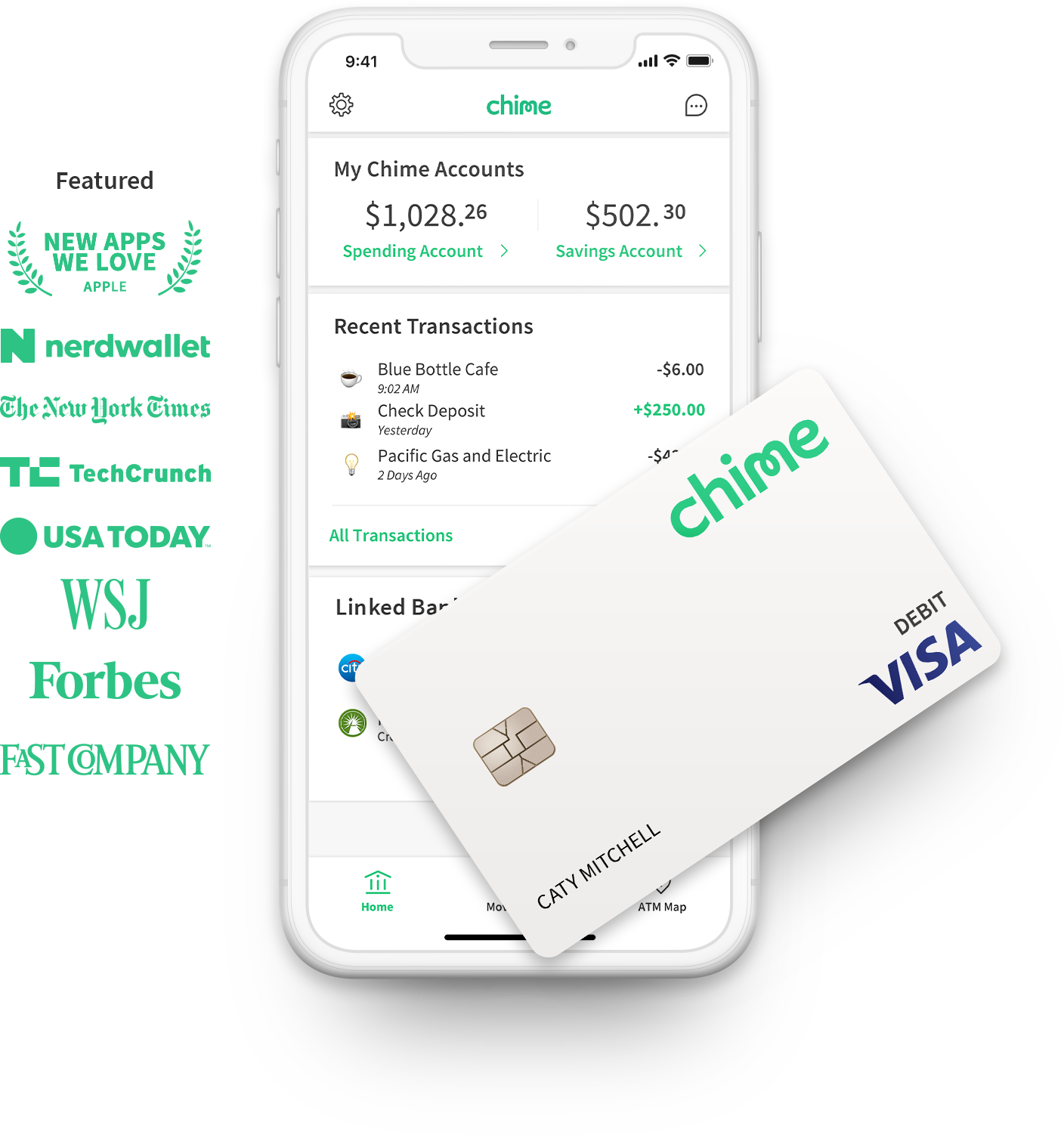 Chime Banking No Hidden Fees Grow Your Savings Automatically Bank Of America Wiring Number Mobile